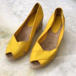 Lauren Ralph Lauren Yellow Shoes